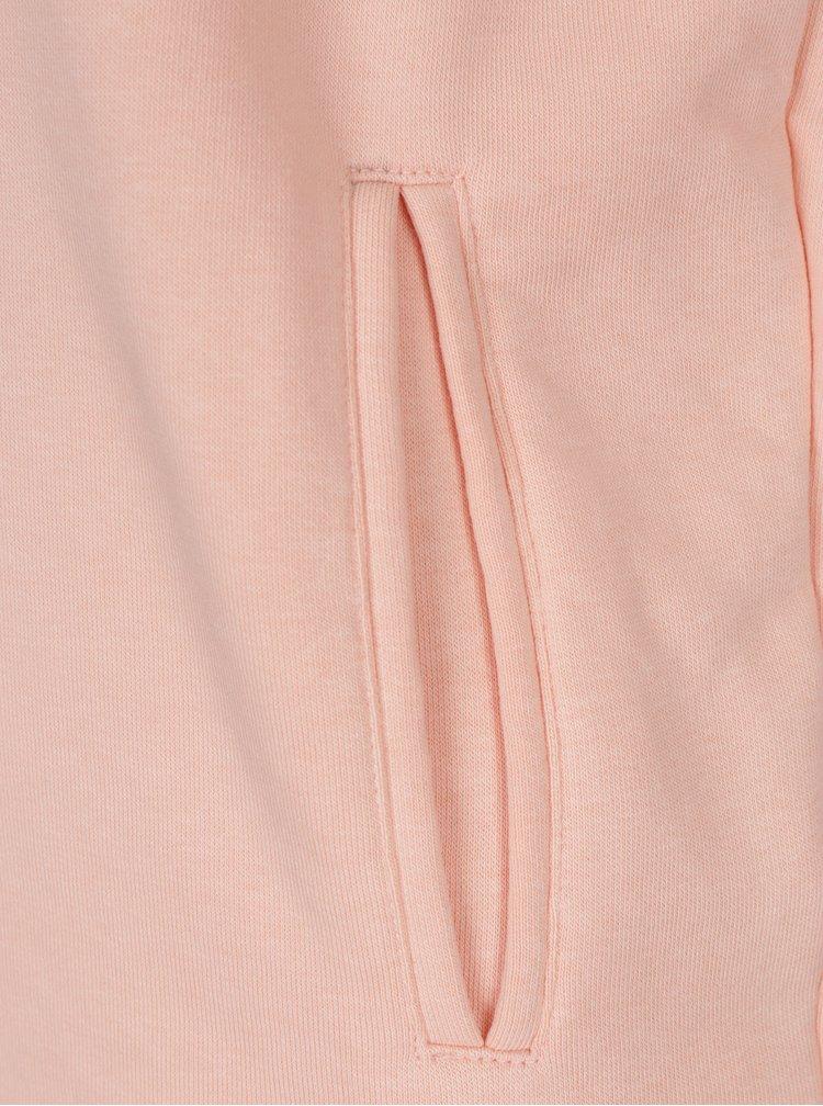 Hanorac roz cu buzunar pe mânecă pentru femei ALPHA INDUSTRIES