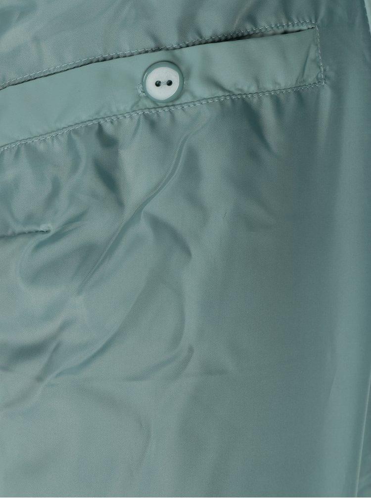 Světle zelená prošívaná bunda Gina Laura