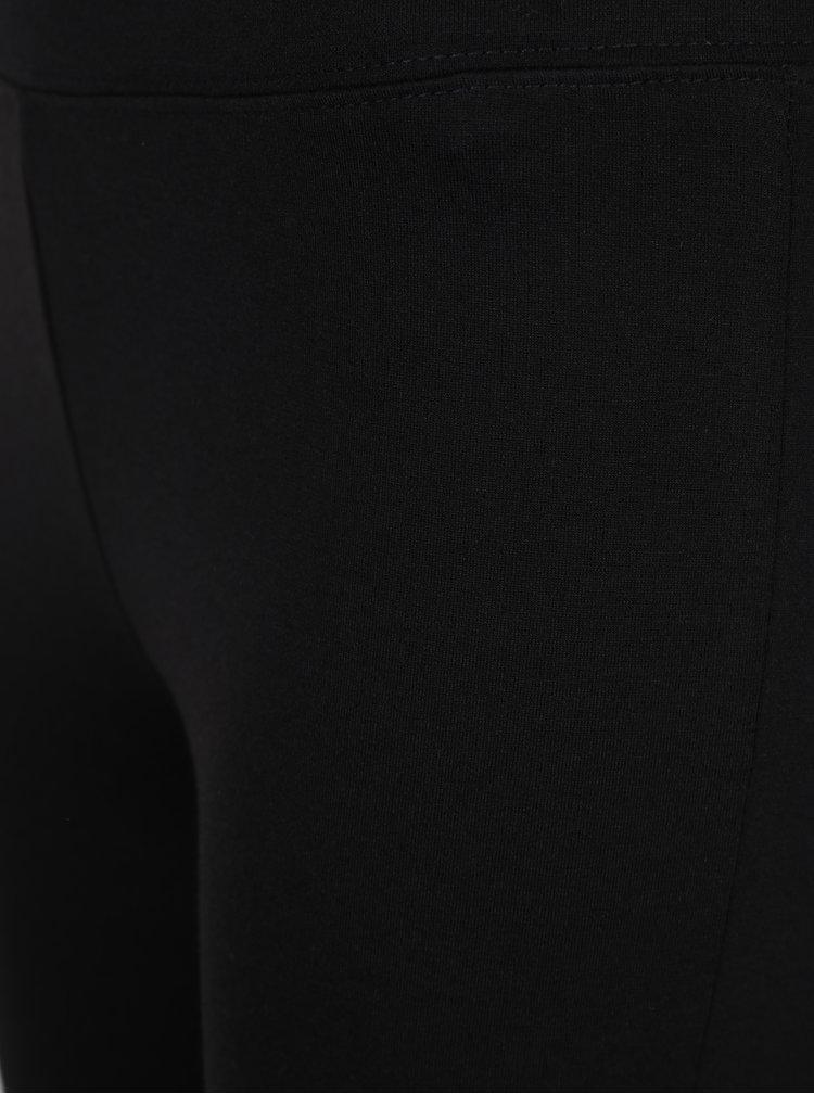Černé legíny se šněrováním na nohavicích TALLY WEiJL