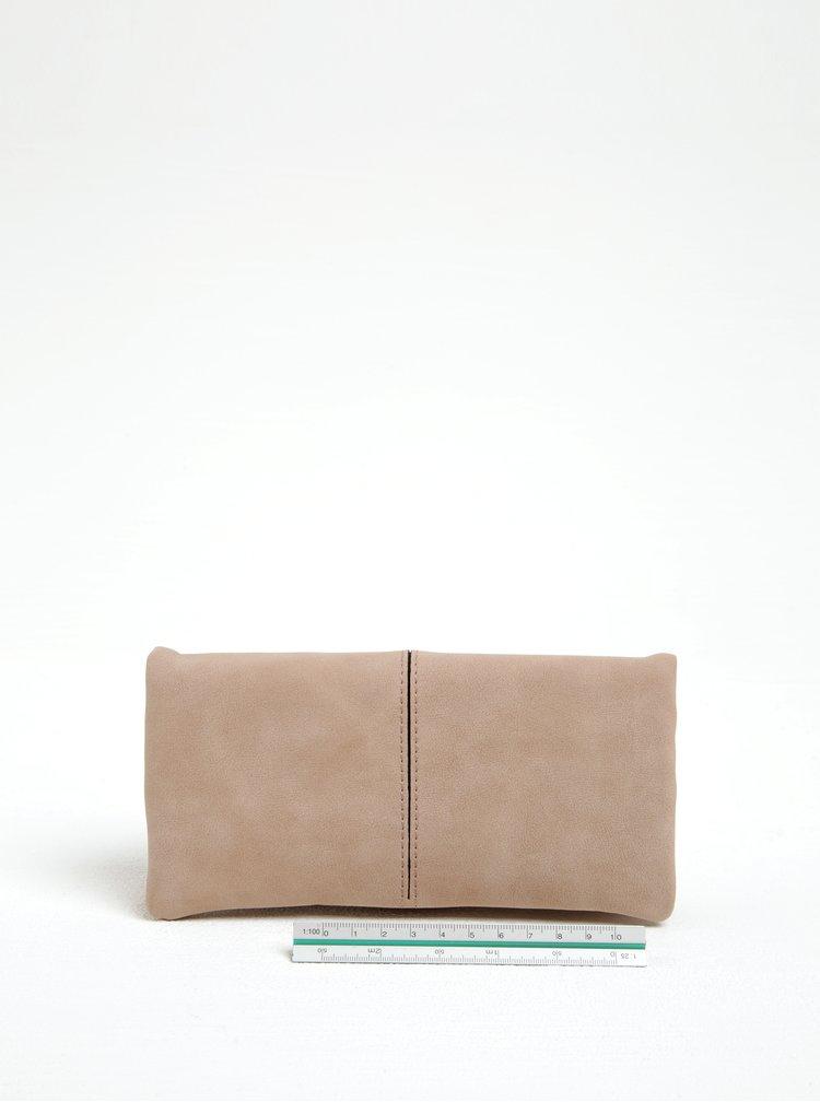 Růžová koženková peněženka Gionni Giselle