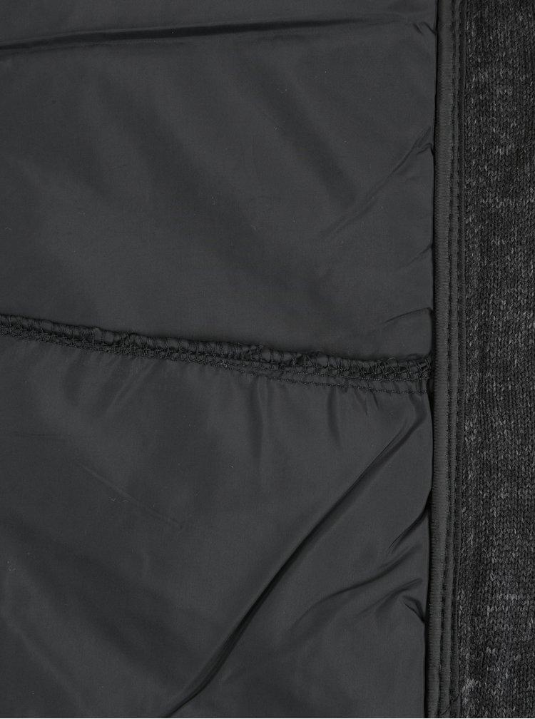 Čierna pánska prešívaná bunda LOAP Gopuff