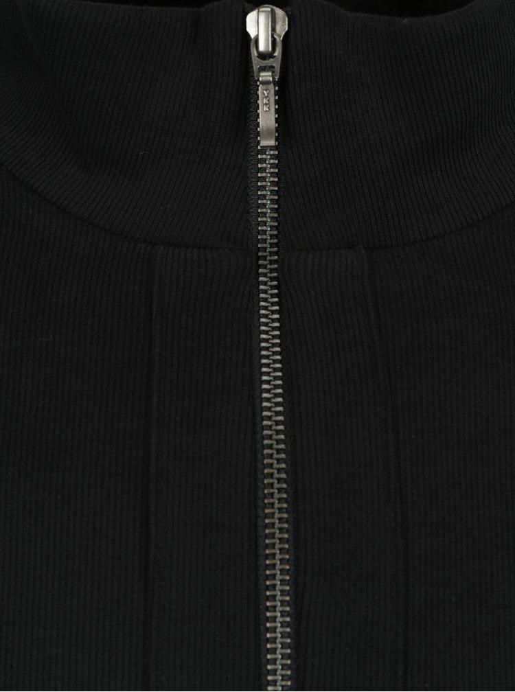 Černá mikina se zipem JP 1880