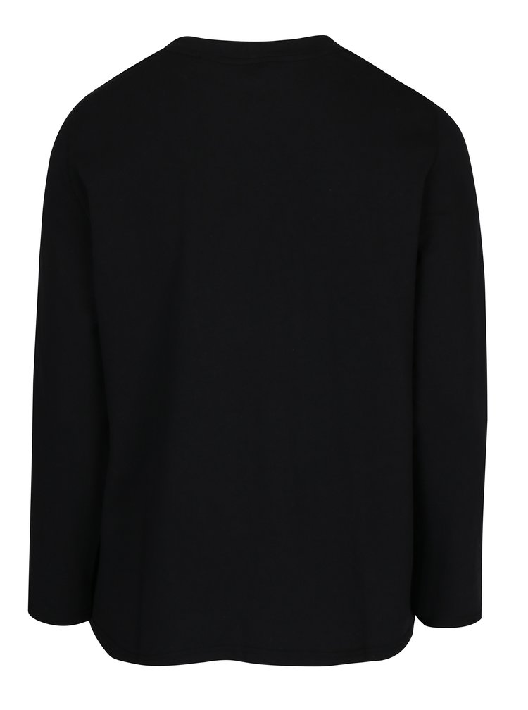 Bluză neagră cu șnur Ulla Popken