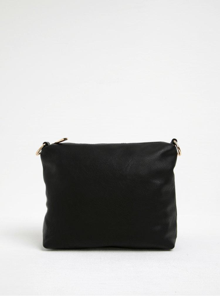 Černá kabelka a malá crossbody kabelka 2v1 Gionni Viollette