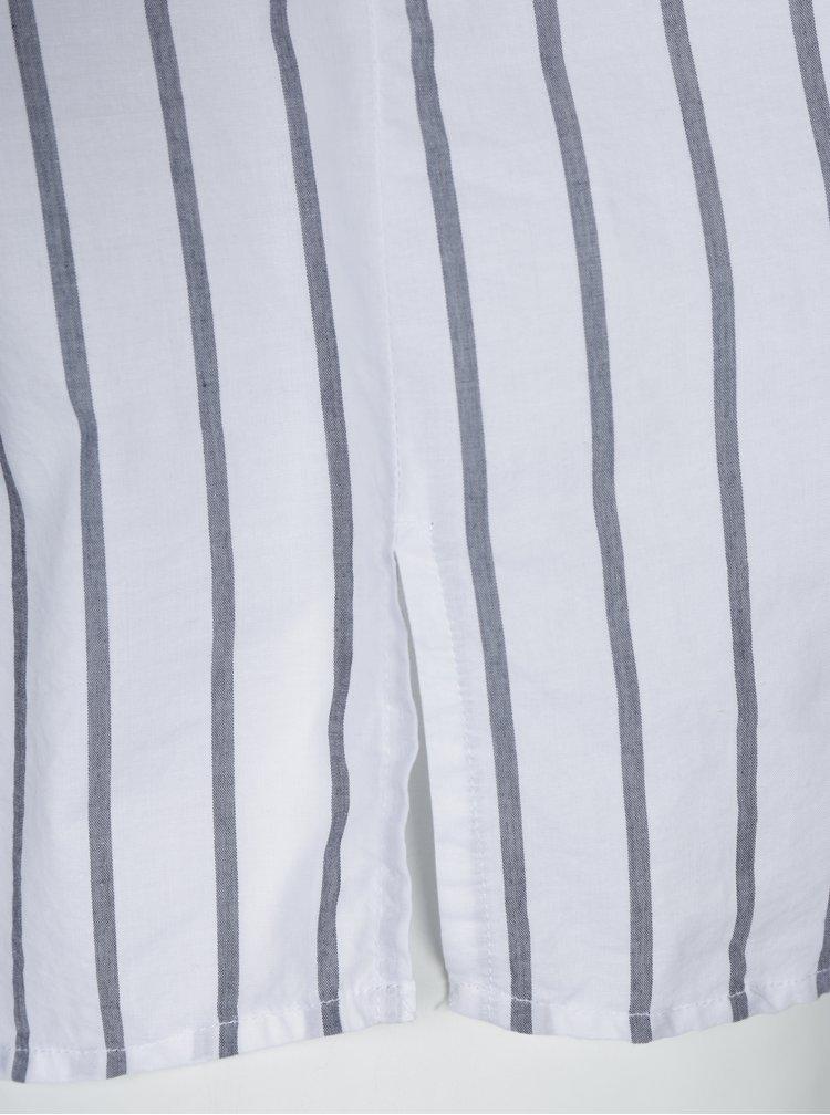 Cămașă albă cu dungi gri Ulla Popken