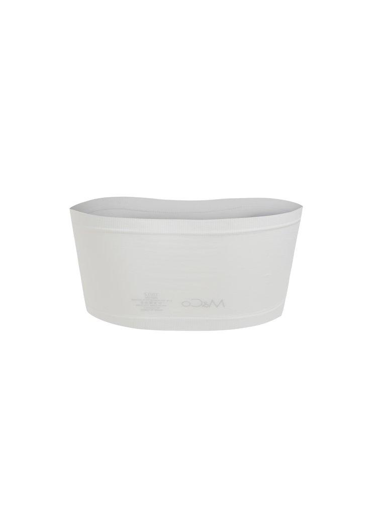 Bustier alb elastic M&Co