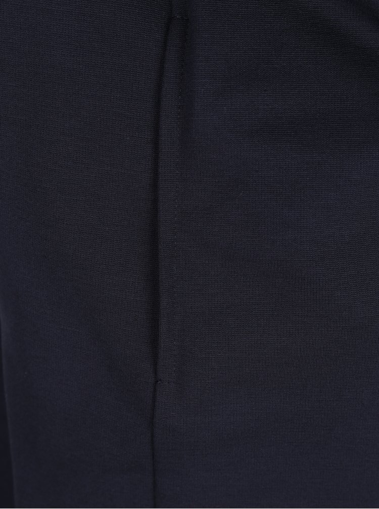 Tmavě modrý lehký kabát s páskem Ulla Popken