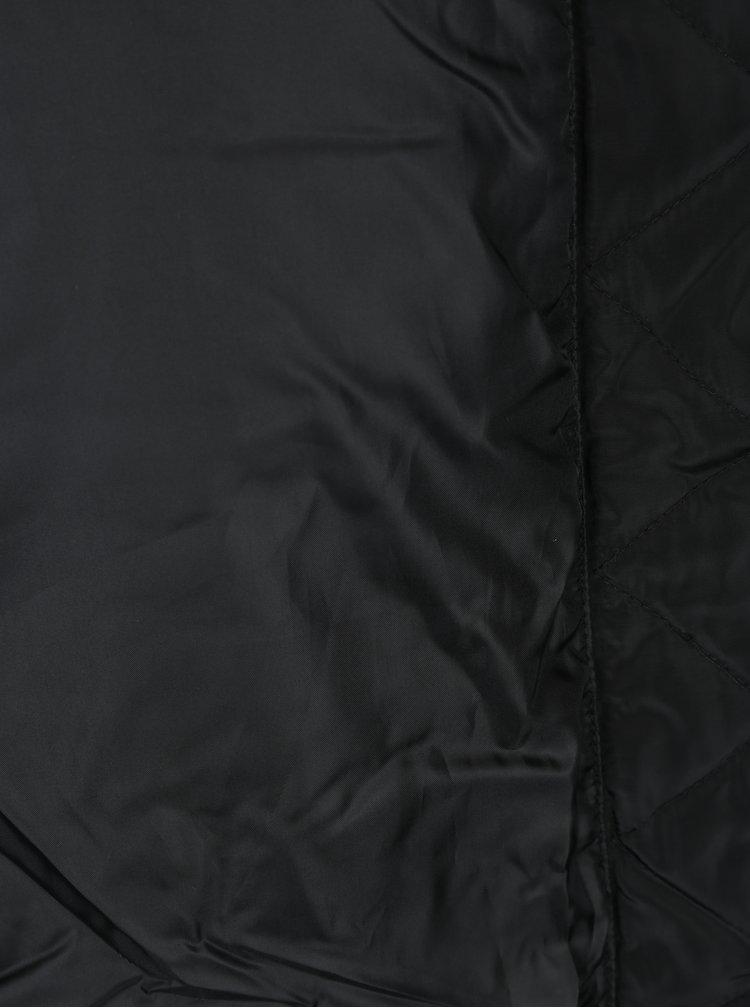 Geaca neagra matlasata cu gluga Jacqueline de Yong Rocca