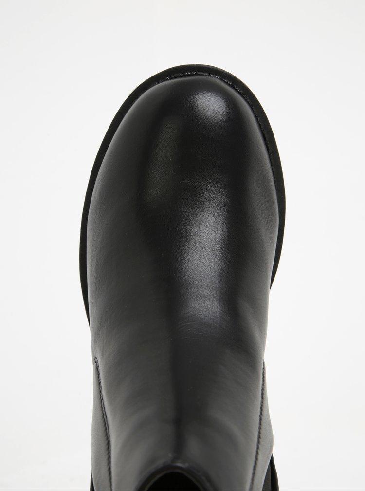 Černé chelsea boty Pieces Pixeil