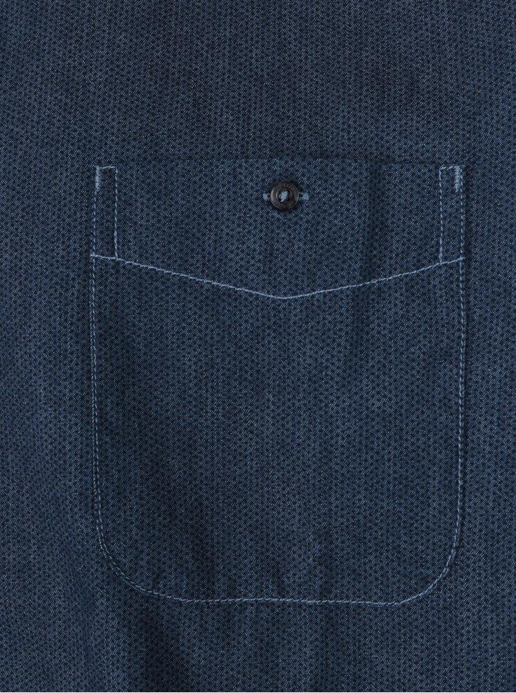 Cămașă albastră cu buline pentru bărbați JP 1880