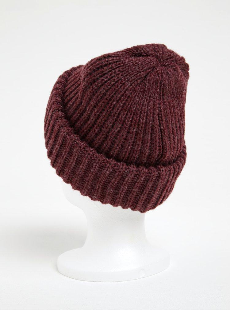 Caciula tricotata bordo - Pieces Poulula