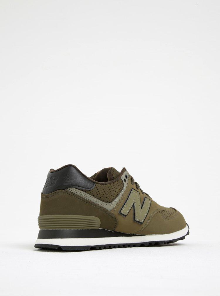 Pantofi sport verzi New Balance 574