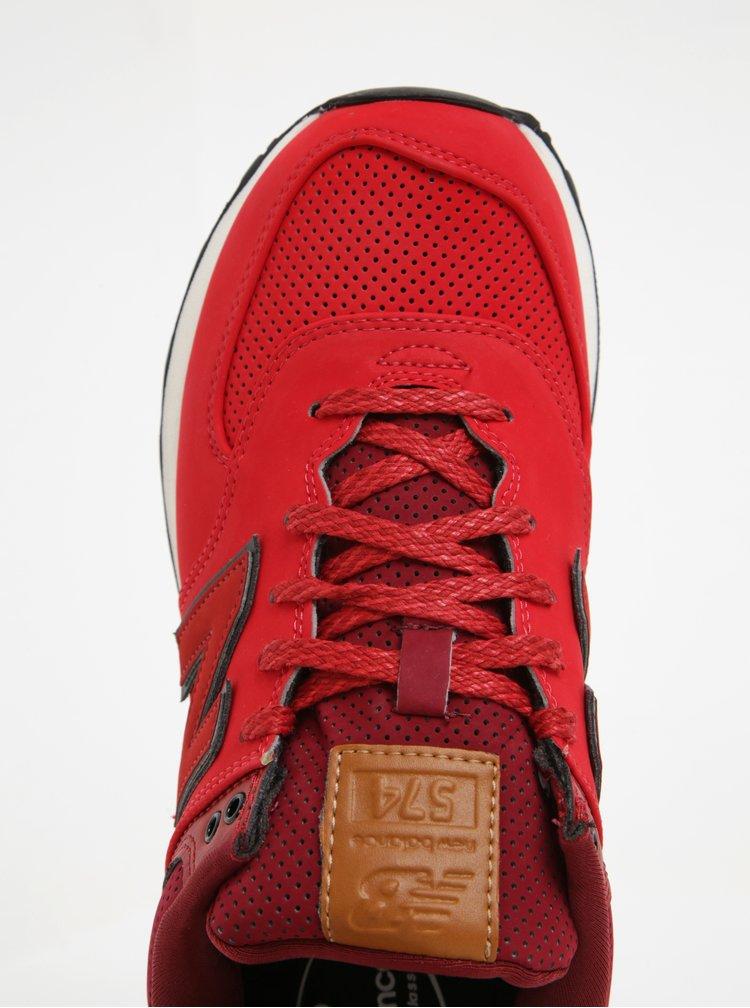 Černo-červené pánské tenisky New Balance