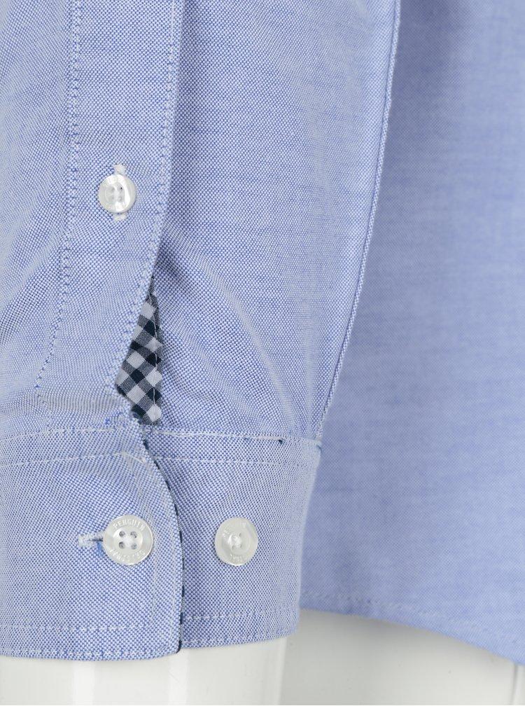 Camasa bleu slim fit Original Penguin Oxford