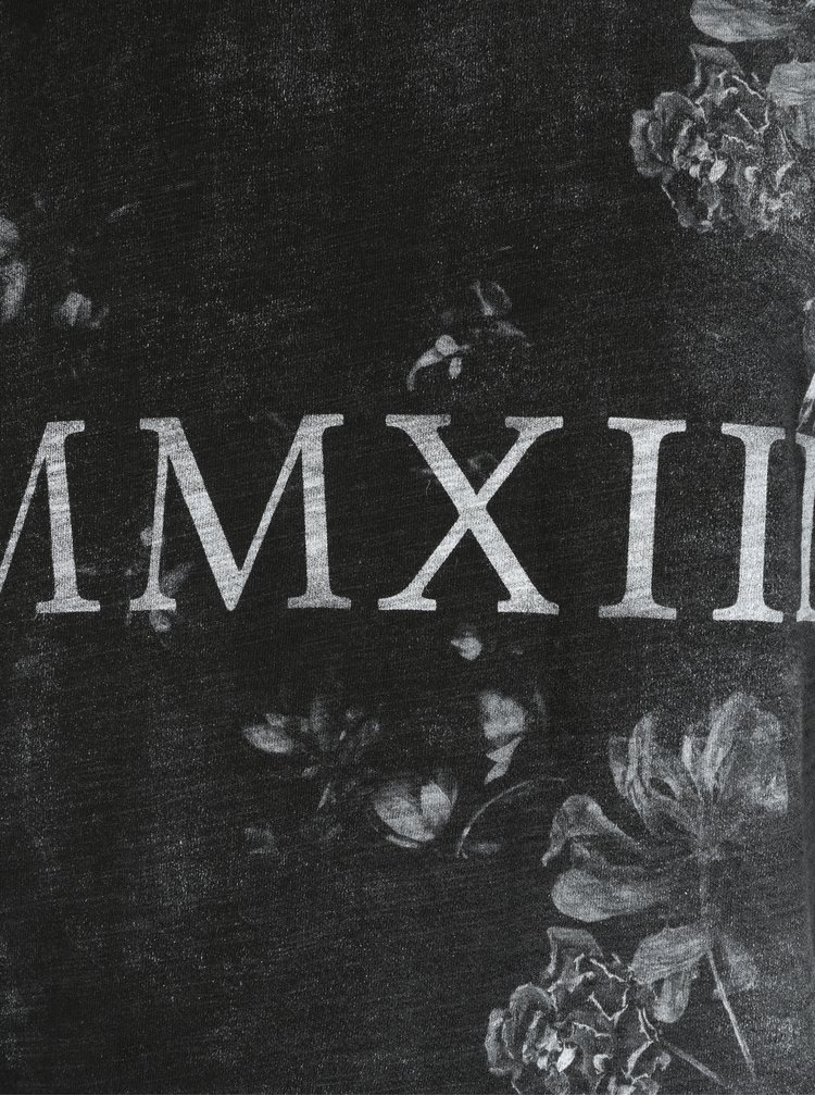 Tricou lejer negru cu print - ONLY & SONS Max