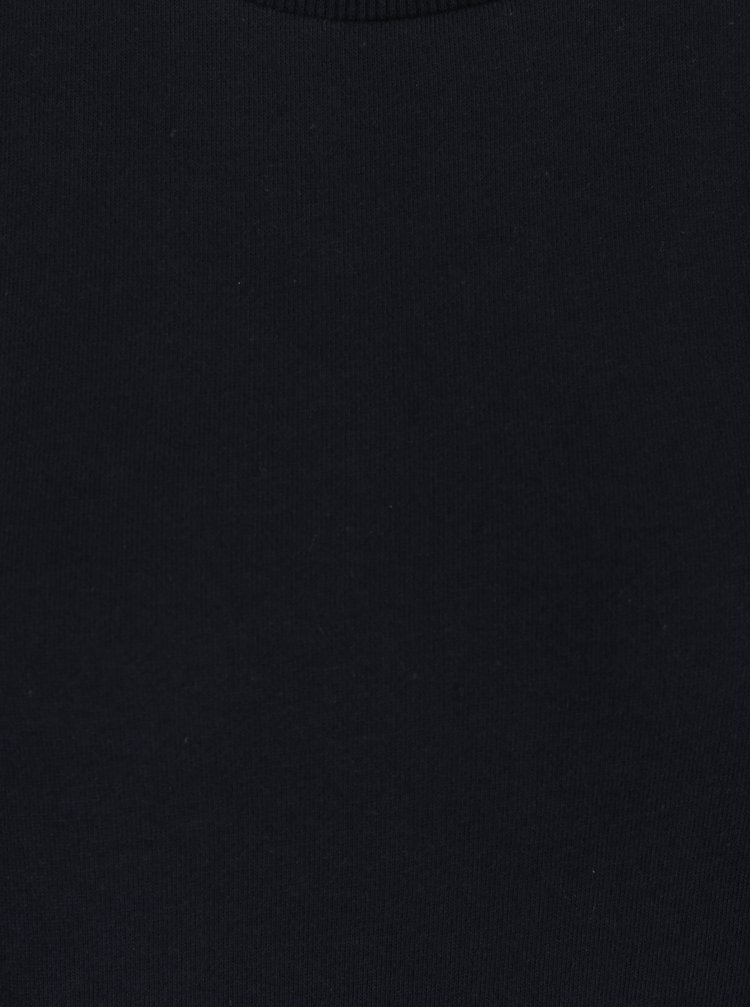 Tmavě modrá lehká mikina s volánem VILA Mista