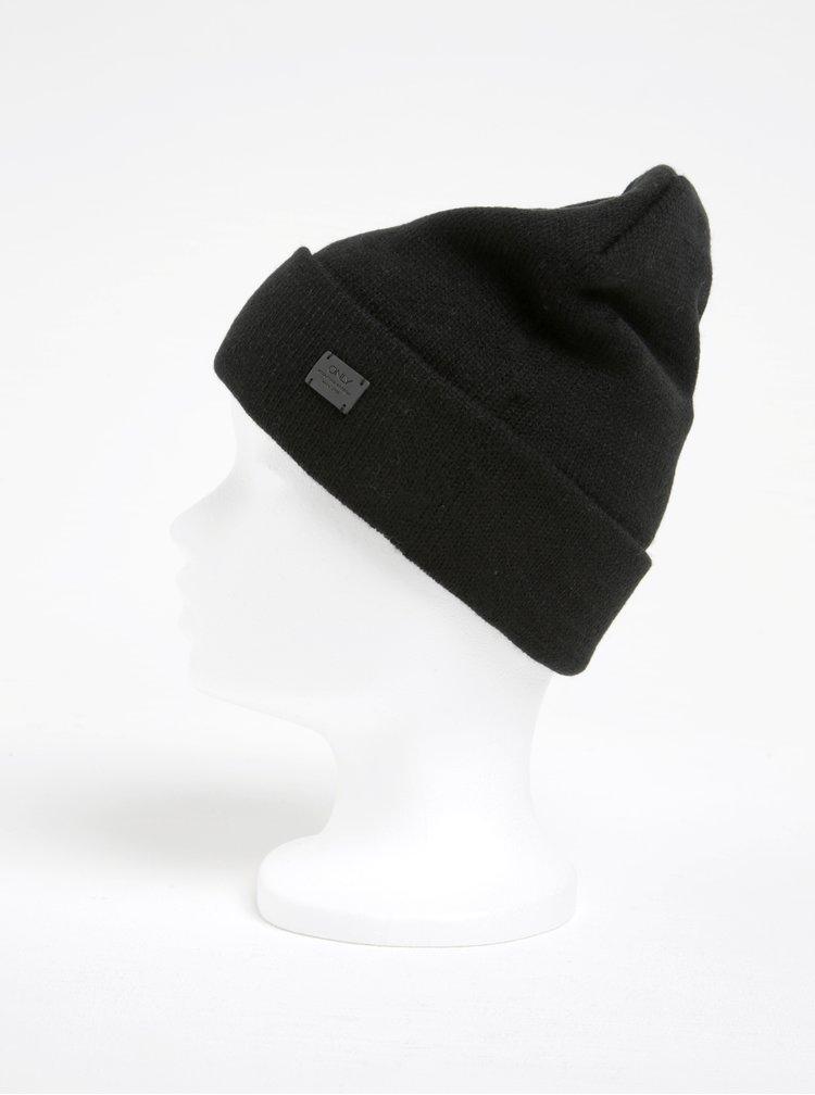 Černá čepice ONLY Pasia