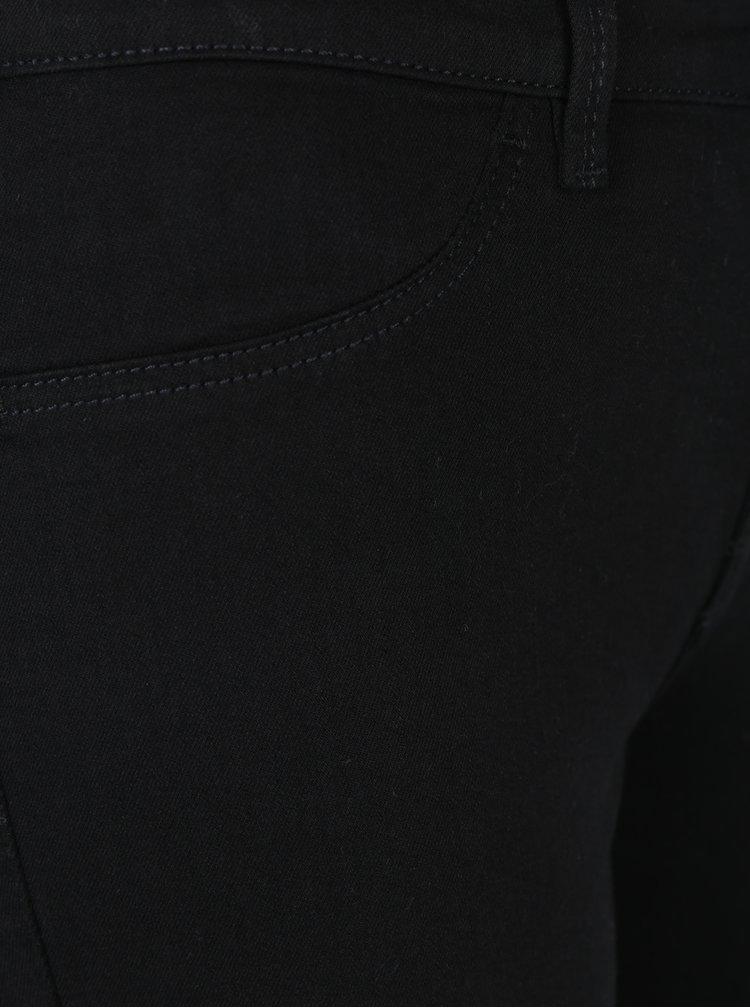Černé jegging skinny džíny Selected Femme Gaia