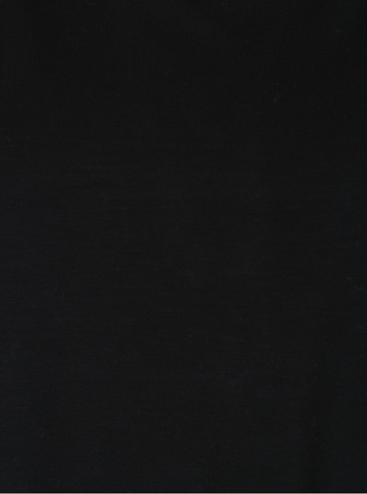 Černé tričko s krátkým rukávem VERO MODA Ava