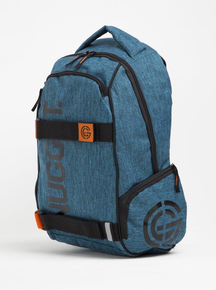 Modrý žíhaný batoh NUGGET Bradley 24 l
