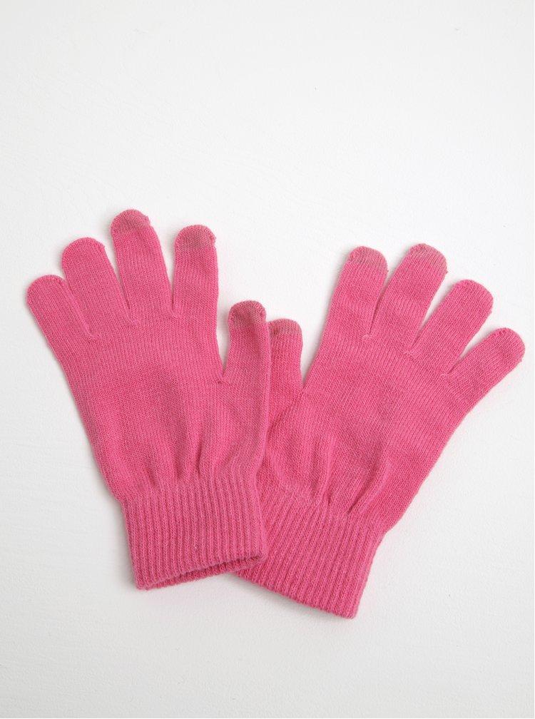 Manusi roz de iarna pentru femei VERO MODA Vilde