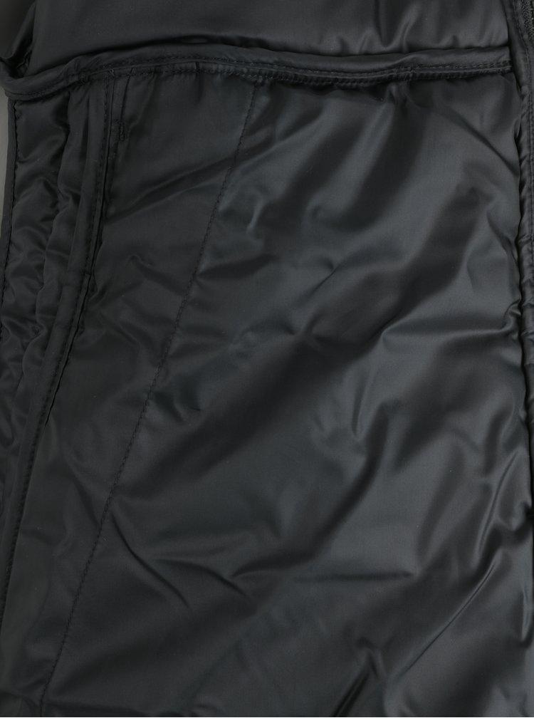 Geacă neagră matlasată pentru bărbați  Nike Sportswear Fill