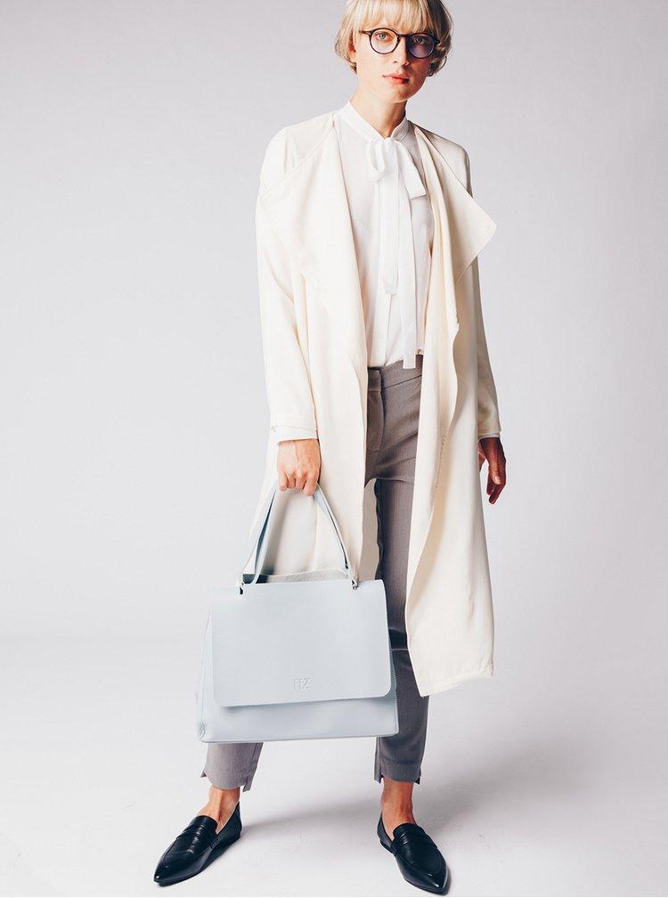 Krémový lehký kabát s kapsami VERO MODA Maili