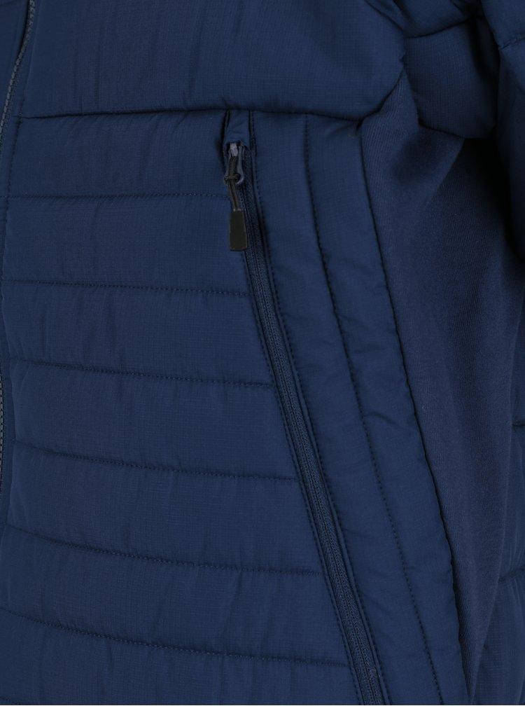 Tmavě modrá pánská prošívaná bunda Nike Sportswear Fill