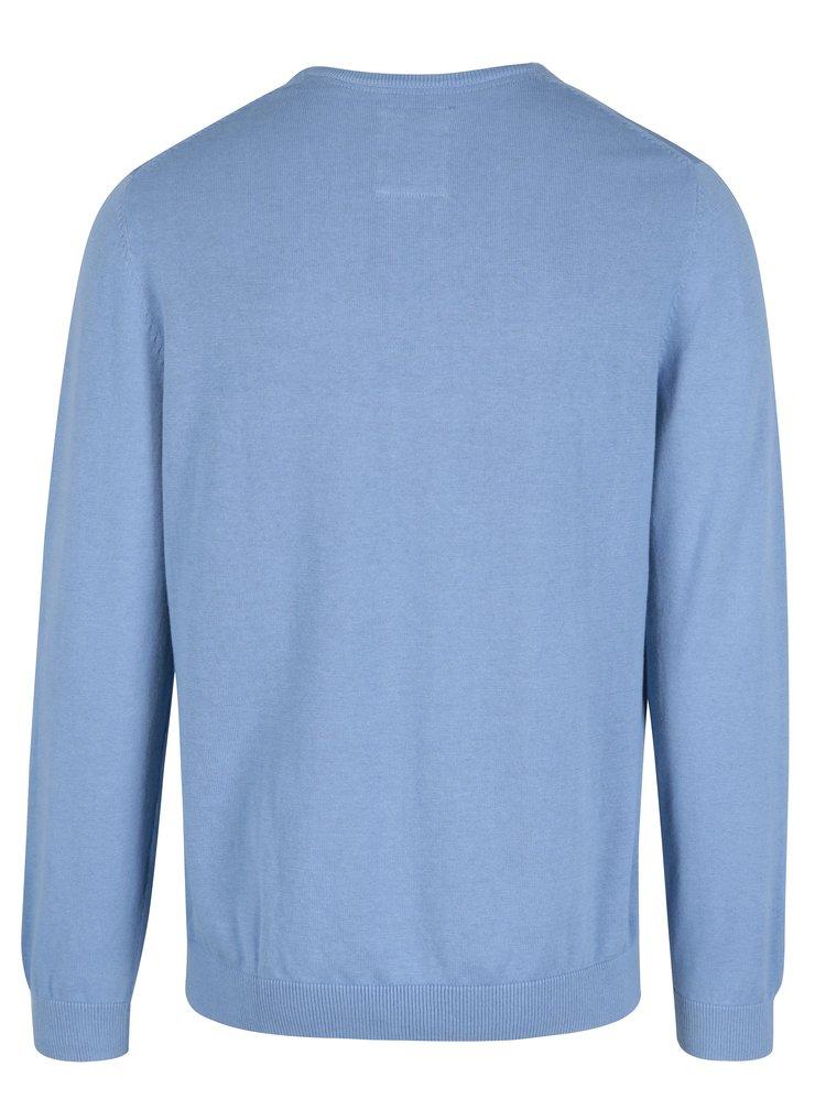 Pulover subtire albastru deschis pentru barbati - s.Oliver