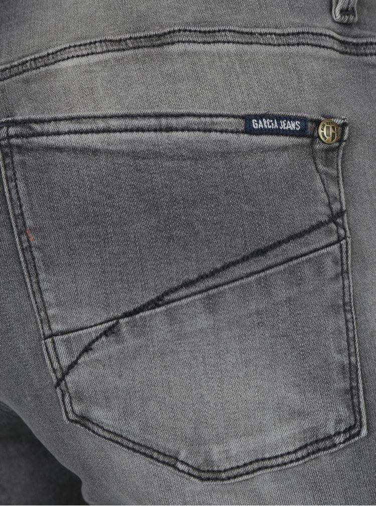 Šedé dámské super slim fit džíny Garcia Jeans Celia