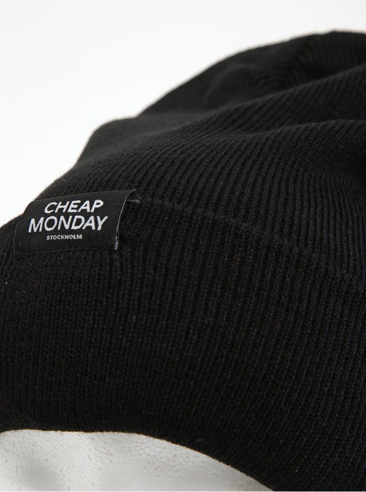 Černá unisex čepice Cheap Monday