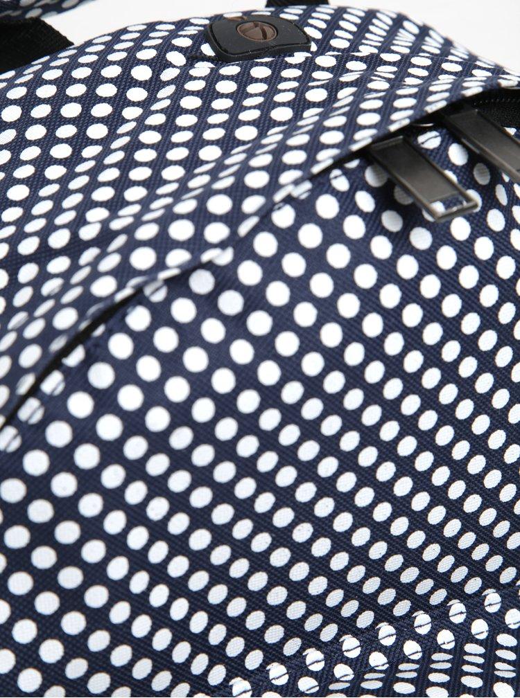 Rucsac bleumarin cu buline albe Mi-Pac Microdot 17 l
