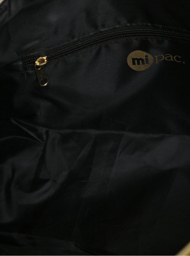 Černo-modrá cestovní taška Mi-Pac Duffel Canvas Tumbled 30l