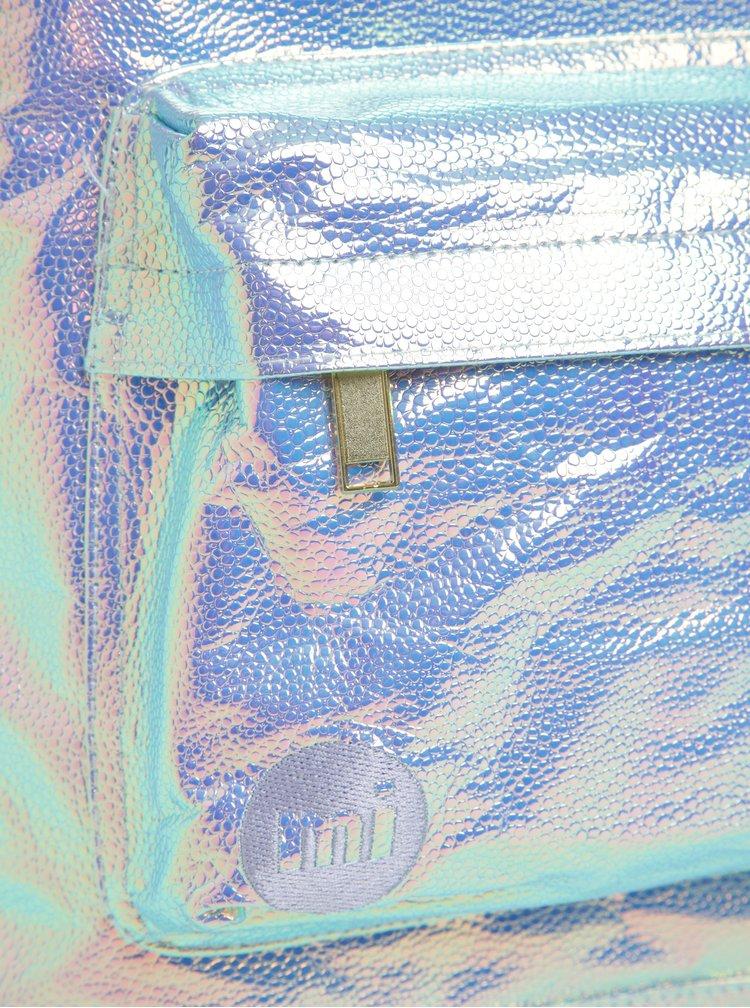 Rucsac violet Mi-Pac Pebbled 17l cu model iridescent