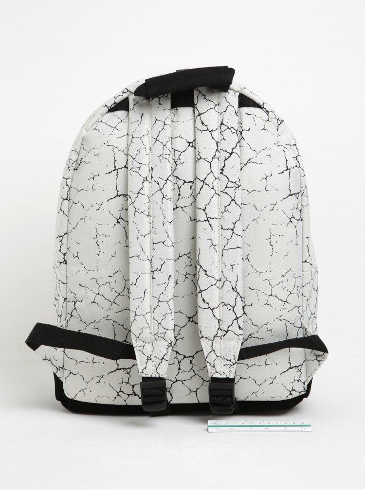 Černo-krémový vzorovaný batoh Mi-Pac Cracked 17 l