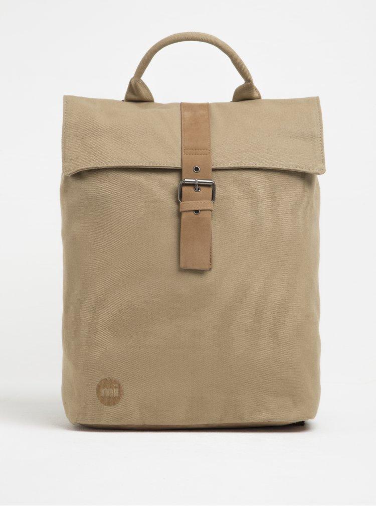Béžový batoh s přezkou Mi-Pac Day Pack Canvas 20 l
