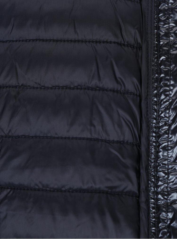 Tmavě modrá dámská prošívaná bunda Garcia Jeans