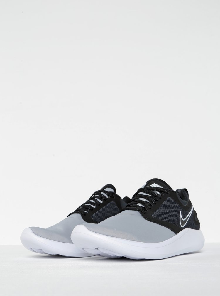 Černo-šedé pánské tenisky Nike Lunarsolo