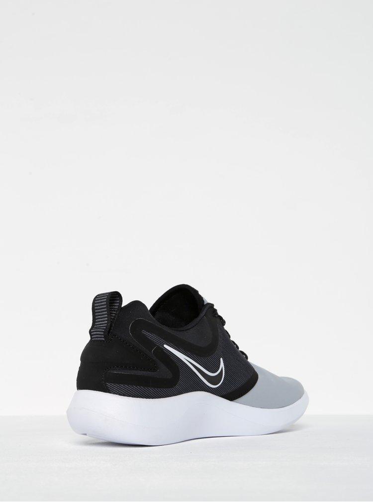 Čierno-sivé pánske tenisky Nike Lunarsolo