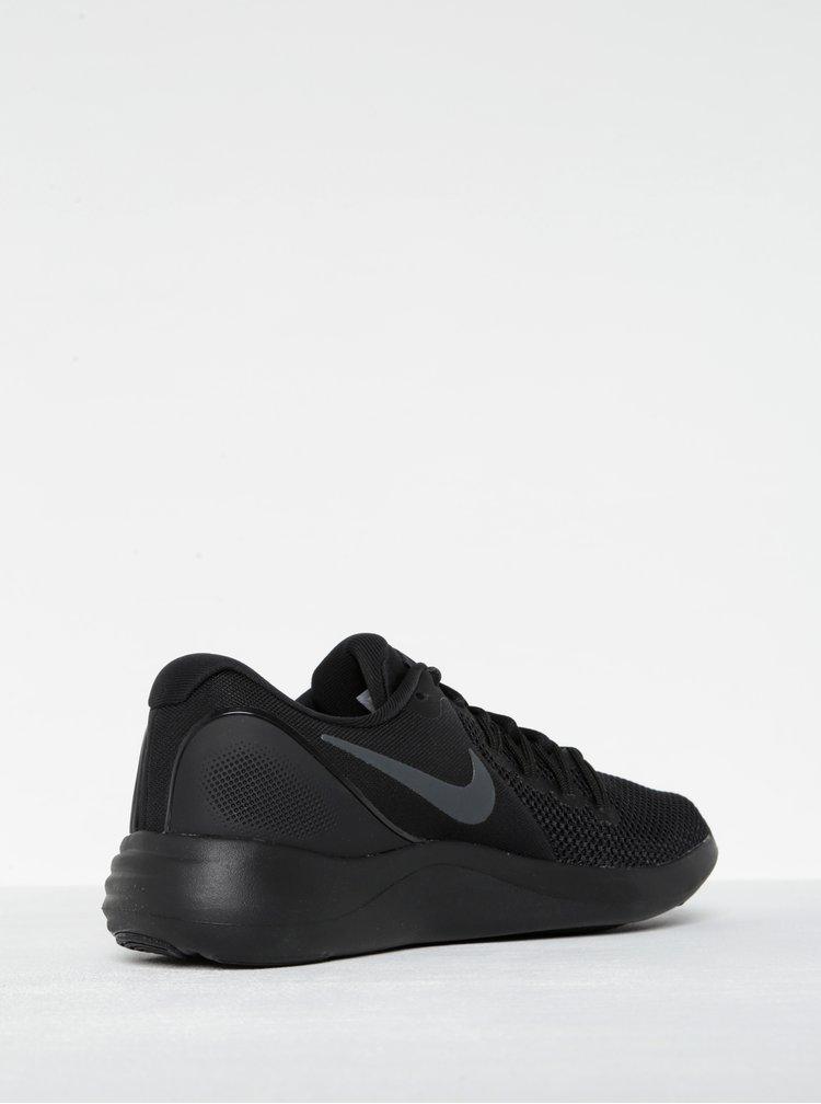 Pantofi sport negri cu perforatii Nike Lunar Apparent