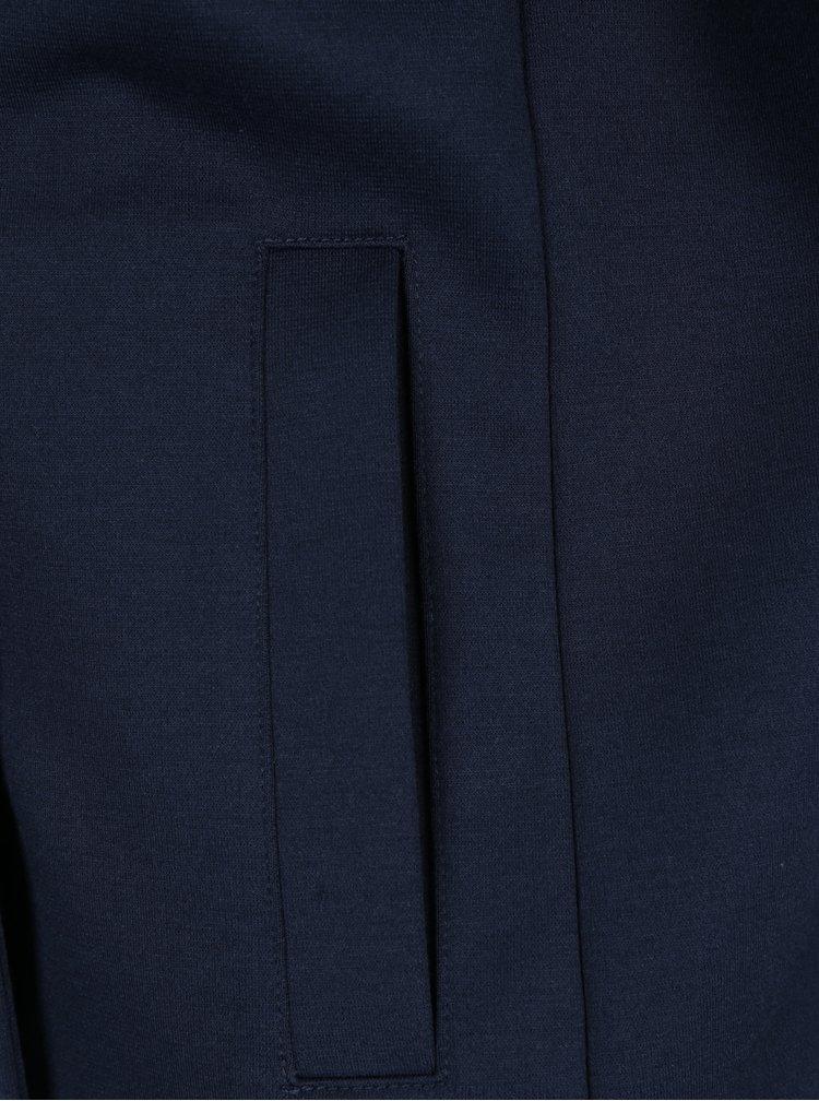 Tmavě modré dámské sako s knoflíky a kapsami s.Oliver