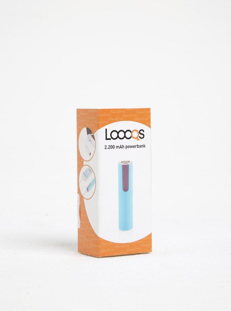 Baterie externă albastră Loooqs