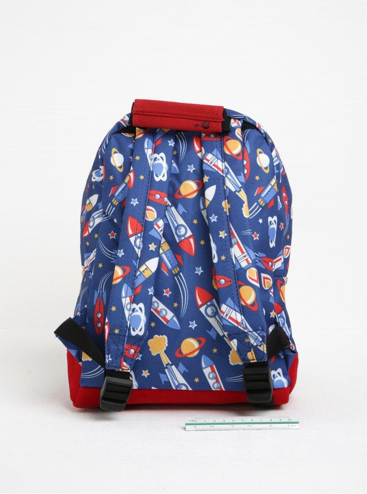 Modrý dětský batoh s motivem vesmíru Mi-Pac Mini Space
