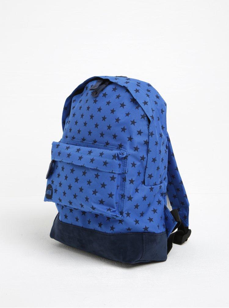 Modrý dětský batoh s hvězdami Mi-Pac Mini All Stars 10,5 l