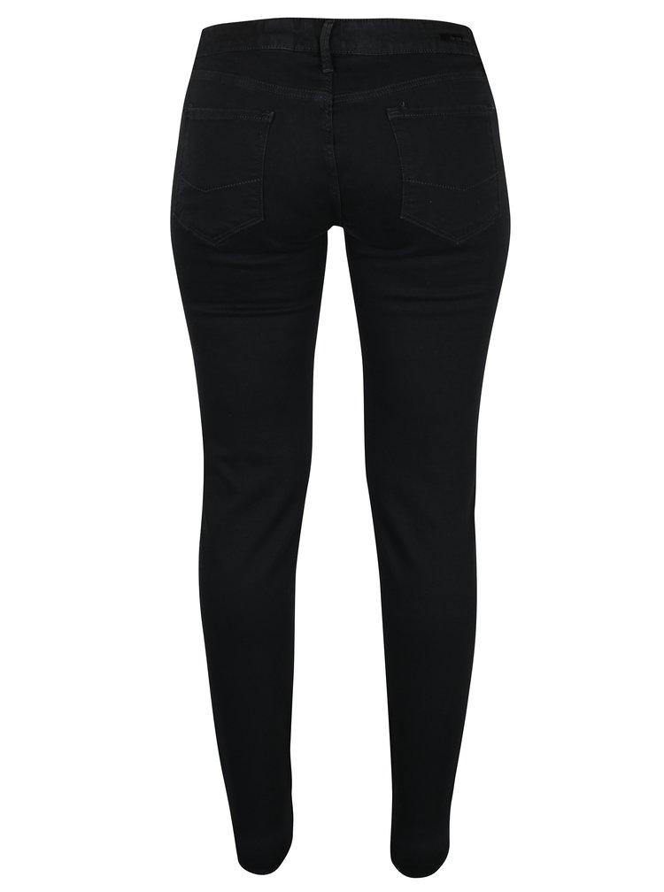 Černé dámské super skinny džíny Cross Jeans