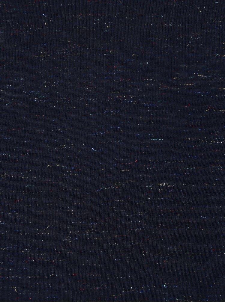 Tmavě modré dámské žíhané tričko Garcia Jeans