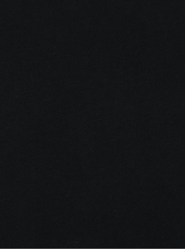 Černé pánské tričko s krátkým rukávem Broadway Kirk