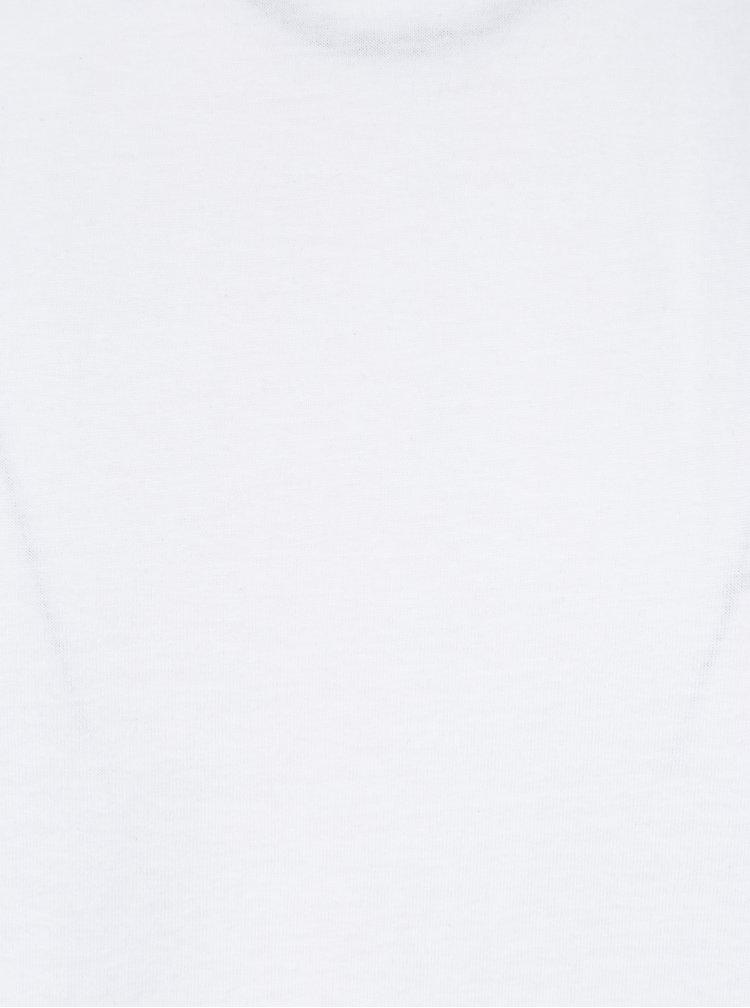 Bílé pánské tričko s krátkým rukávem Broadway Kirk