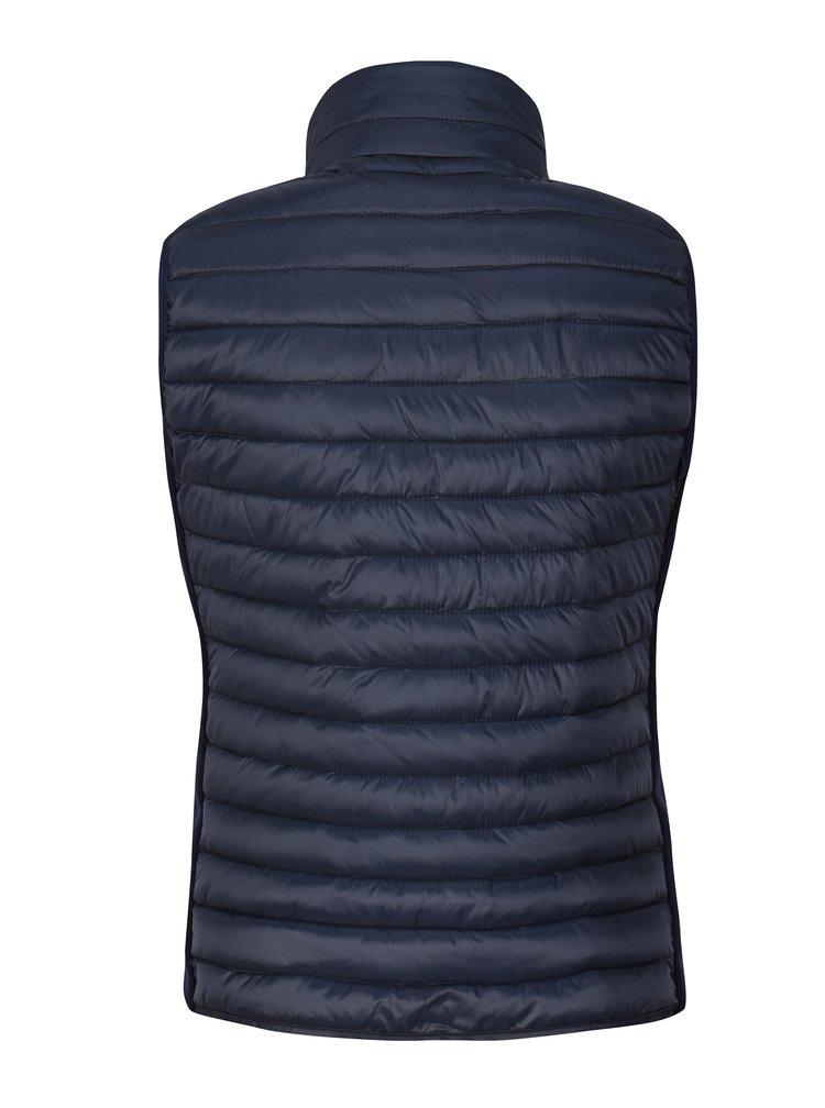 Tmavě modrá dámská prošívaná vesta Broadway Lacie