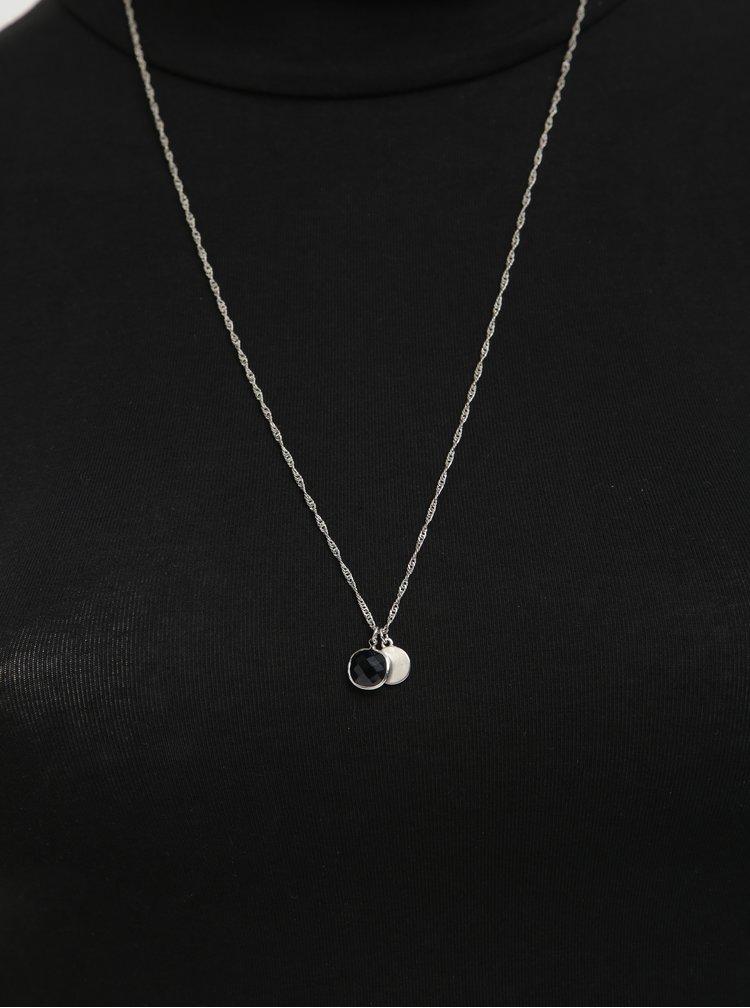 Řetízek ve stříbrné barvě s přívěsky Pieces Rilli